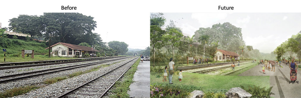 Bukit Timah Railway Station Future Plan Singapore