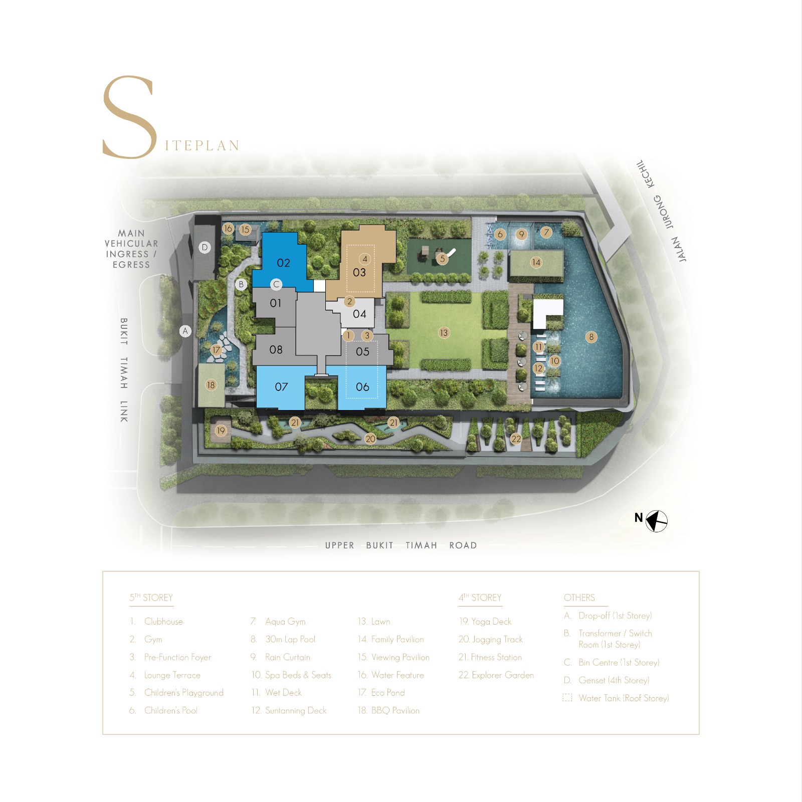 The Linq @ Beauty World Site Plan Singapore